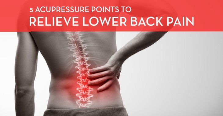 Acupressure points for lower back pain