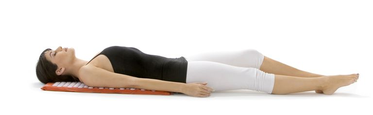 Acupressure mat - back position
