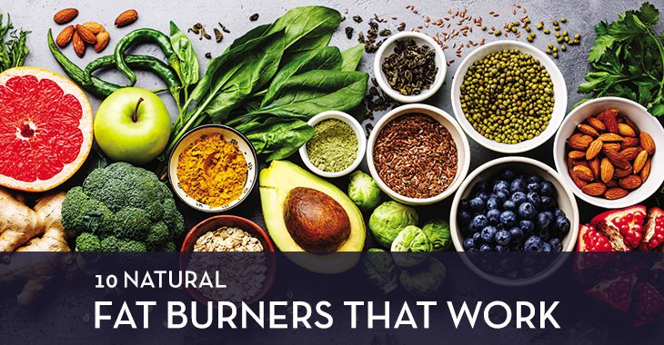 10 Natural Fat Burners That Work