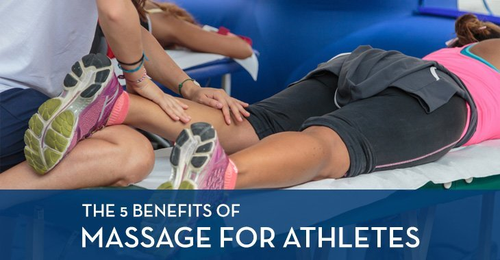 The 5 Benefits of Massage for Athletes