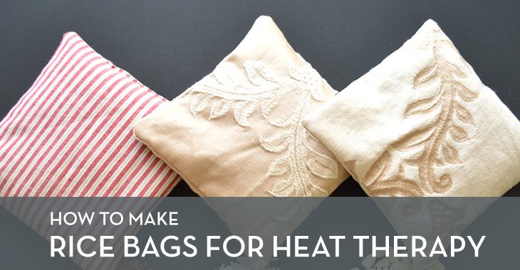 How to Make Rice Bags for Heat Therapy