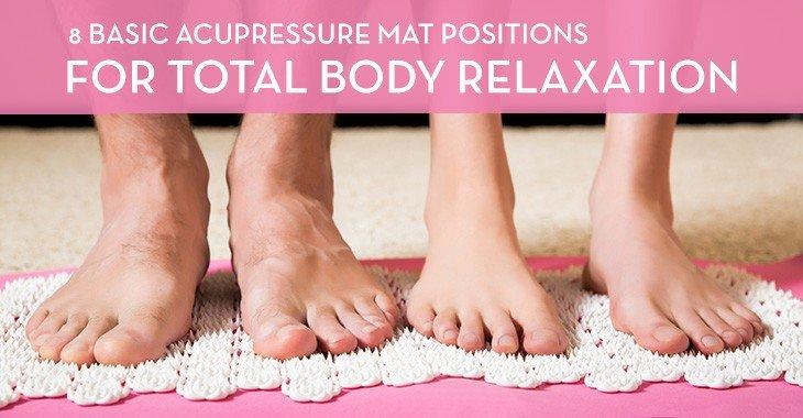 Acupressure Mat Positions