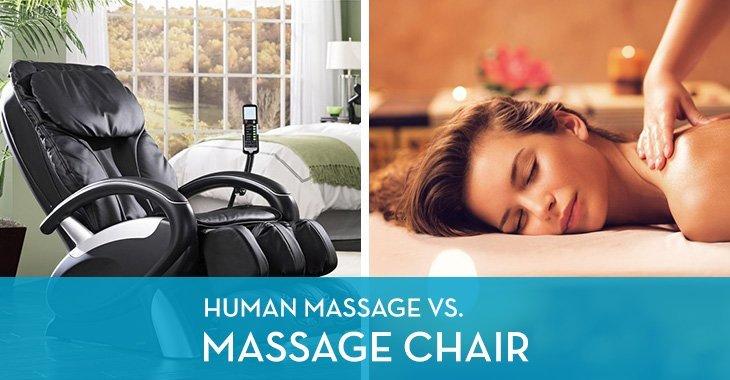 Human Massage vs. Massage Chair