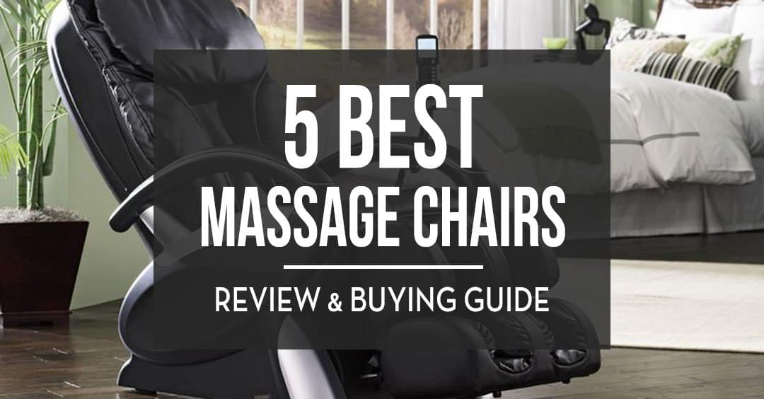 5 Best Massage Chairs Reviewed
