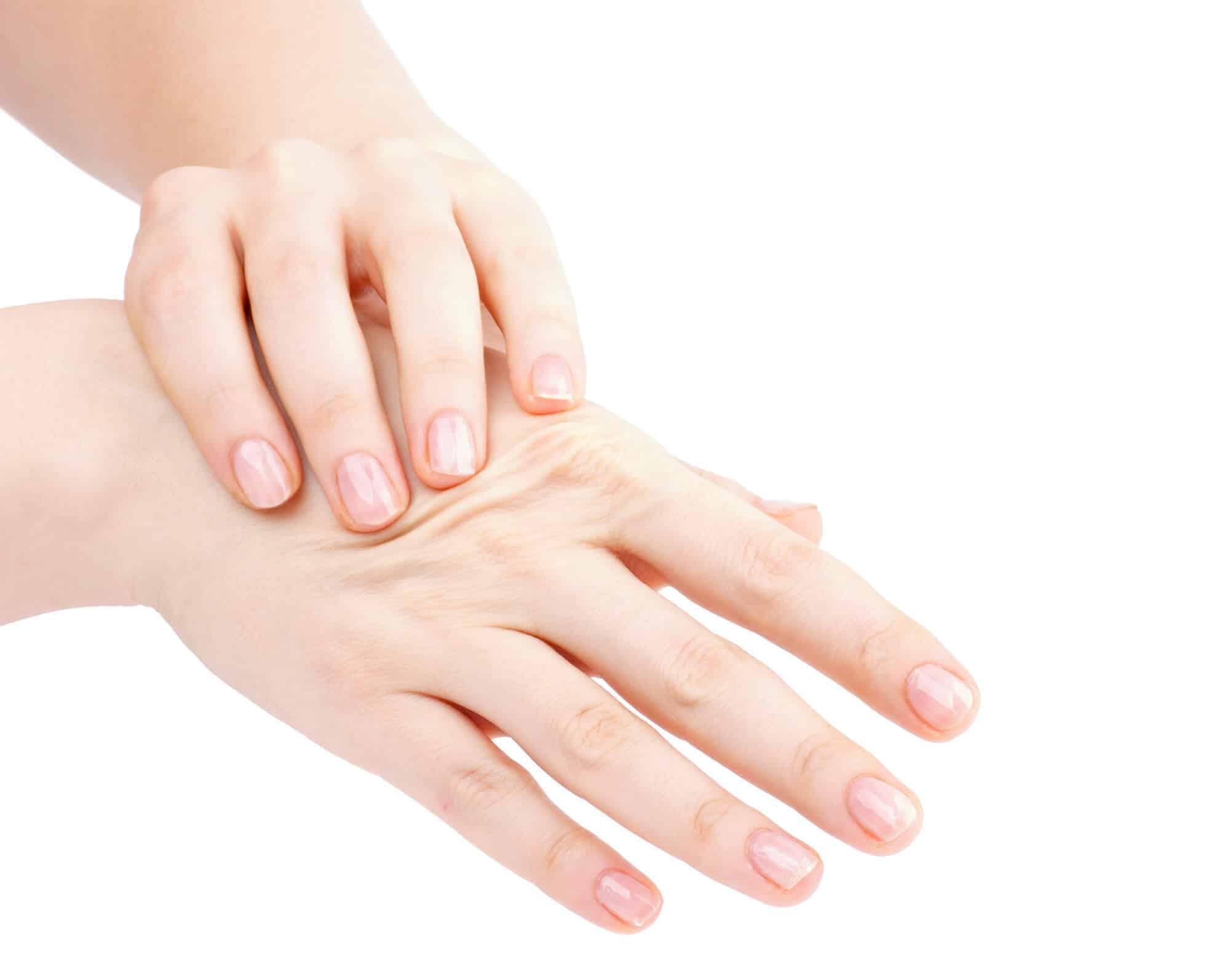 self hand massage