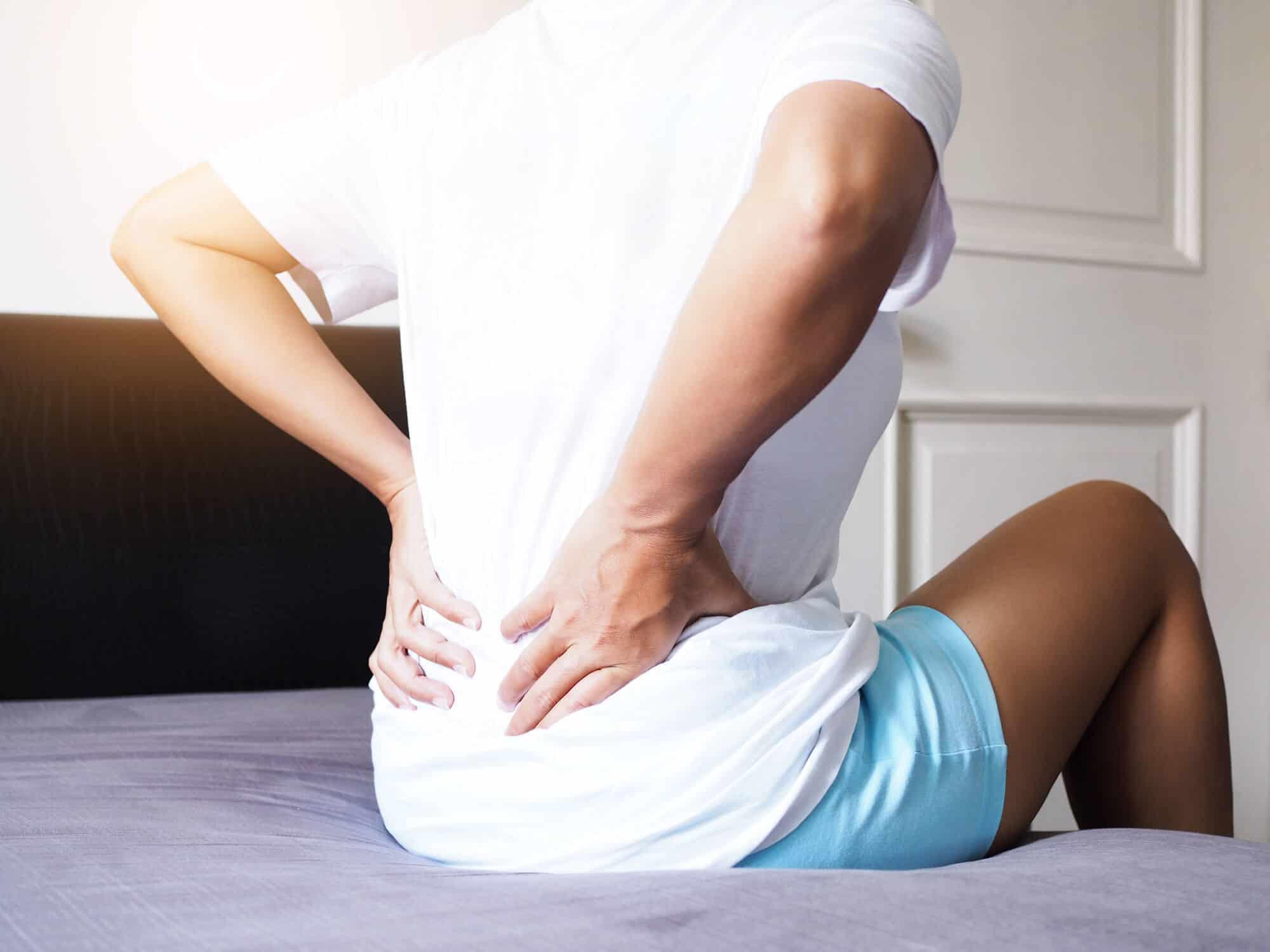 self massage technique for the back