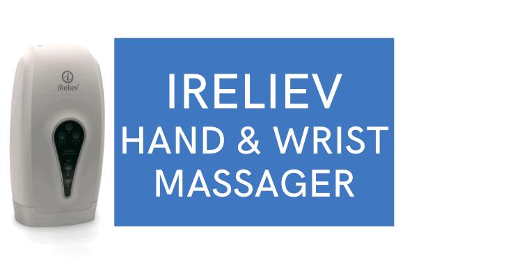 iReliev hand and wrist massager